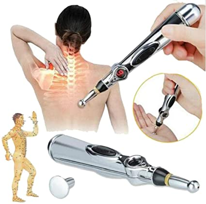 Amazon.com: Sloovery Electronic Acupuncture Pen Meridians Laser ...
