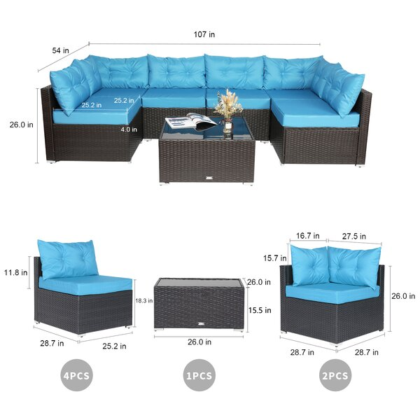 Erlond 300 - Person Seating Group with Cushions
