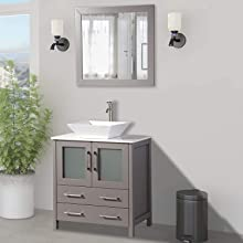 Small Bathroom cabinet sink vanity with mirror double sink cabinet single sink cabinet with mirror