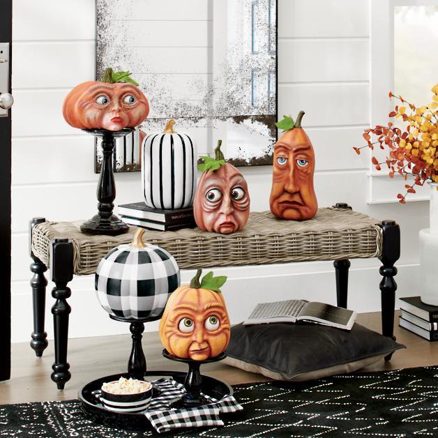 Expressive Pumpkin, Frank