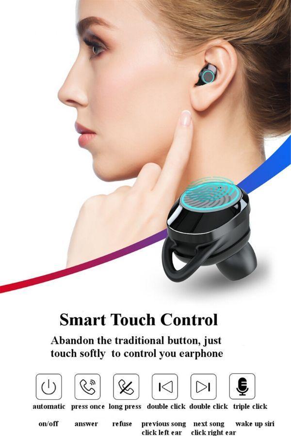women wearing True Wireless Earbuds Bluetooth