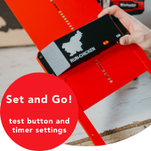 test button set timer manual timer
